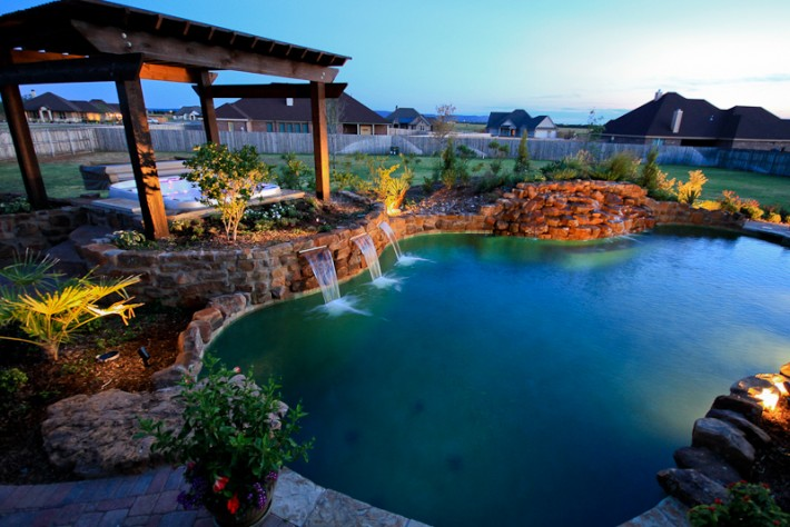 Swimming Pool Company In Midland Tx Taylor Landscape