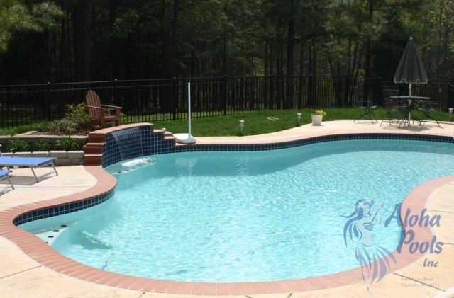 Pool design building in charlotte nc by aloha pools - Indoor swimming pools charlotte nc ...