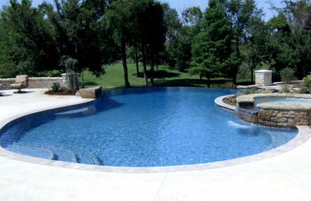 Paradise pools spas your builder in oklahoma city ok - Swimming pool contractors oklahoma city ...