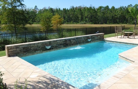 Pool Design Remodeling In Orange Park Fl By Coastal Luxury