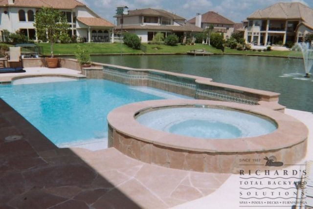 Pool Building In Webster Tx By Total Backyard Solutions