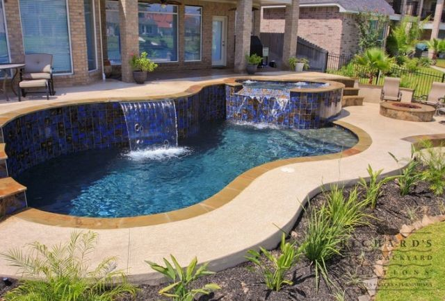 Backyard Solutions pool building in webster txtotal backyard solutions