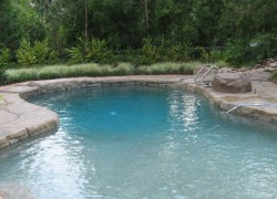 White Sands Pool Plastering
