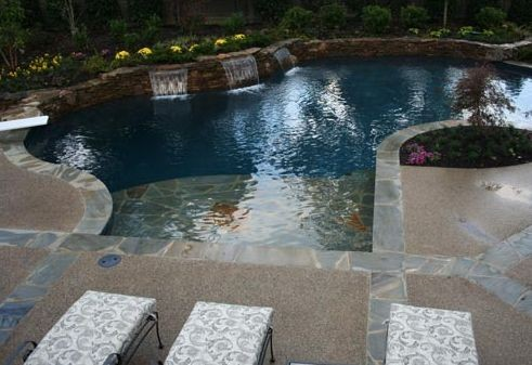 Pool design installation in arlington tn by brewer 39 s - Swimming pool companies in memphis tn ...