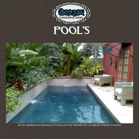 Pool Design Building In Moorpark Ca By Derian Quality Pools