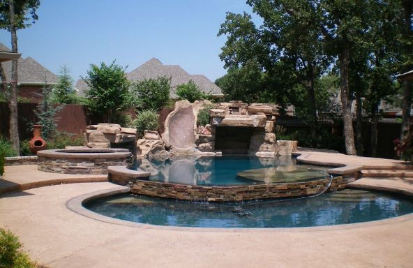 Pool Design Building In Lawton Ok By Pool Pros
