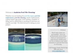 Anaheim Pool Tile Cleaning