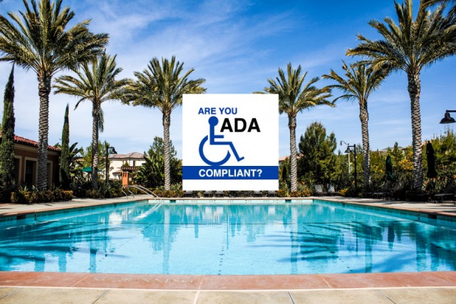 Is your Pool and Spa ADA Compliant? Call today (714)677-8445 for an ADA Inspection Orange County