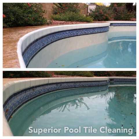 Pool Tile Cleaning Corona