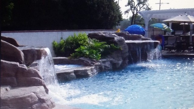 Swimming Pool Company In Laredo, Tx - Swimming Pool And Waterfall