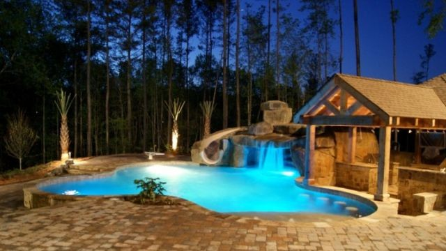 Pool design building in atlanta ga by georgia dream pools for Swimming pool meaning in dreams