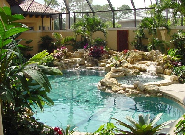 Pool Building In Port Saint Lucie Fl By Harbor Bay Pools