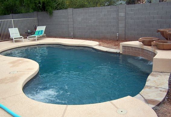 Pool Design Building In Mesa Az By Polar