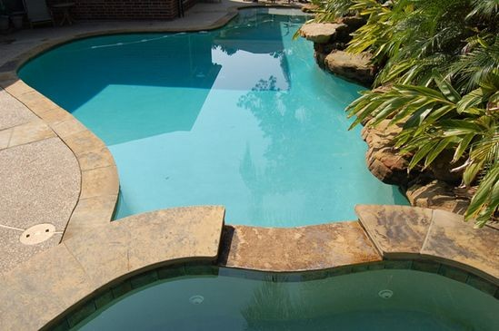 Pool construction design in modesto ca by signature pools - California swimming pool building codes ...