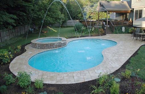In Ground Swimming Pools In Dayton Oh By Watermark