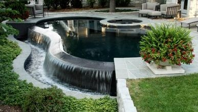 Swimming pools spas hot tubs in lincoln ne by bonsall for Pool design lincoln ne