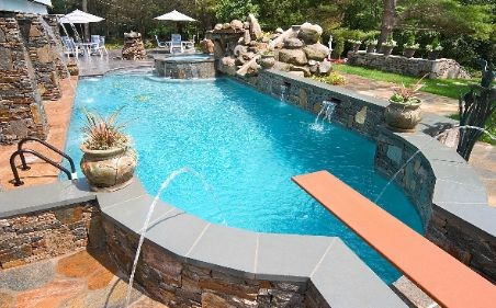 Pool construction design in hartford ct by rizzo - According to jim the swimming pool ...