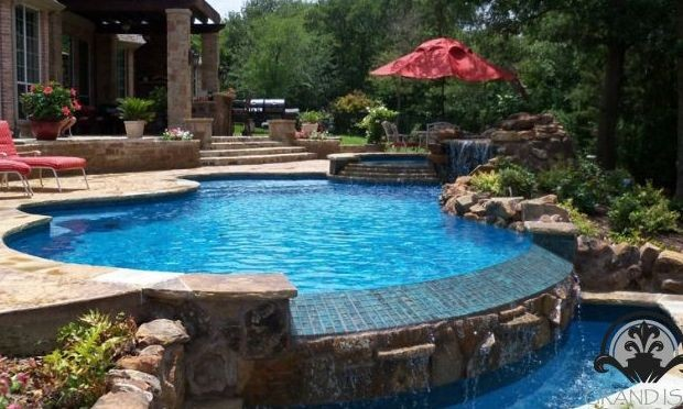 Custom Pool Design Construction In Cypress Tx By Grand Isle