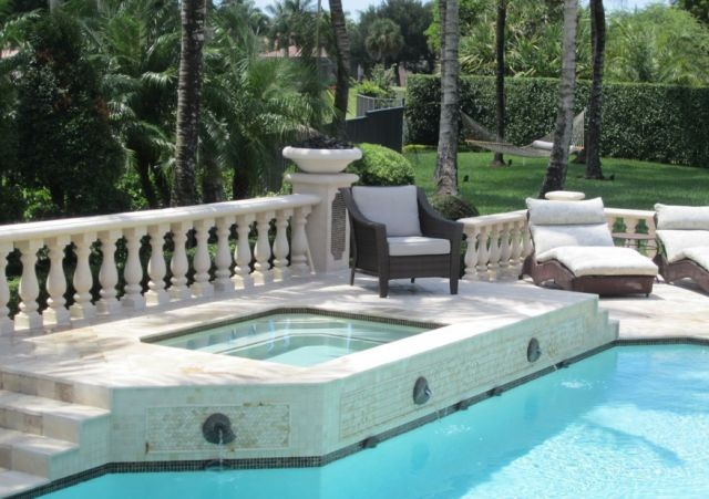 Pool construction design in boca raton fl by pool builders for Pool design boca raton