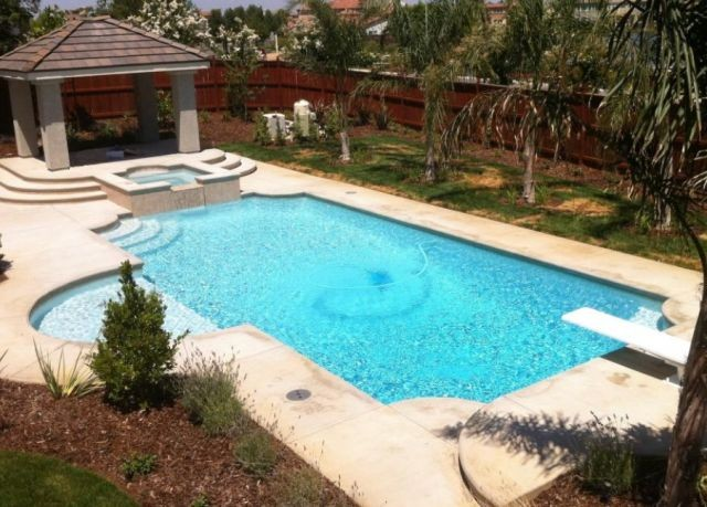 Pool construction design in clovis ca by vineyard pools - American swimming pool and spa association ...
