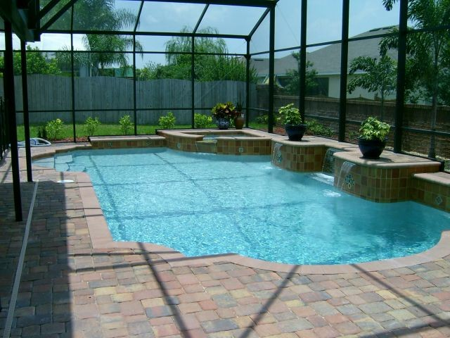 Pools by design your pool builder in kissimmee fl for Pool designs florida