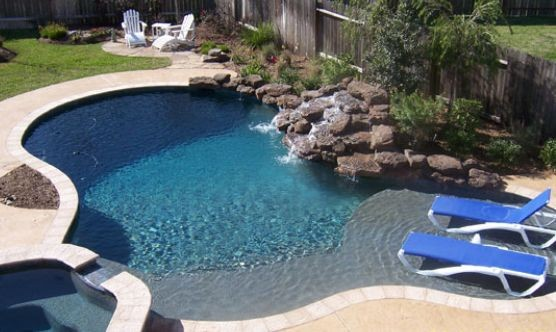 Pool remodeling construction in sugar land tx by reed 39 s for Kenny pool design
