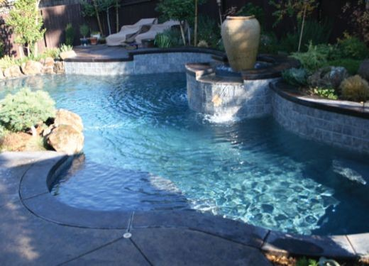 Swimming Pool Building In Elk Grove Ca By Sage Pools