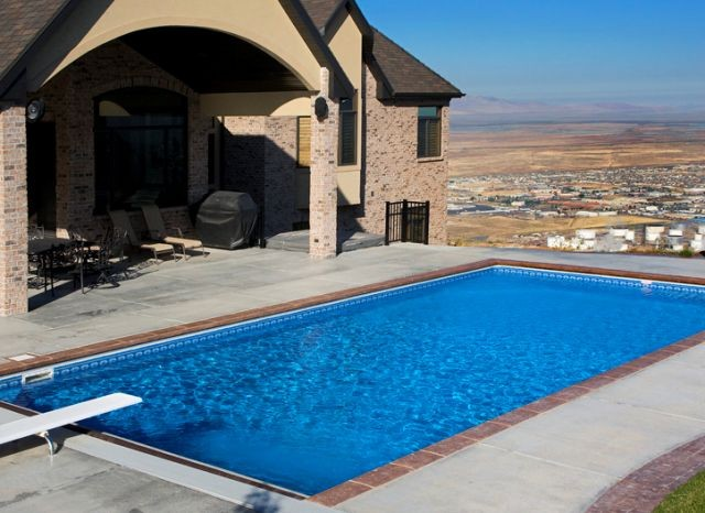 Pool construction services in ogden ut by best pools for Swimming pool design utah
