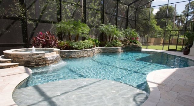 Pool building in brandon fl by tampa bay pools for Pool design tampa