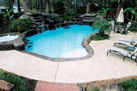 Pool construction maintenance in katy tx by laguna for Pool design katy