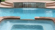 Luxury pools and spas