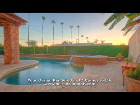 Del Rancho Pools: from Concept to Completion