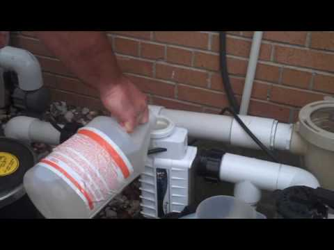 Tutorial Chlorine Generator Cell Cleaning