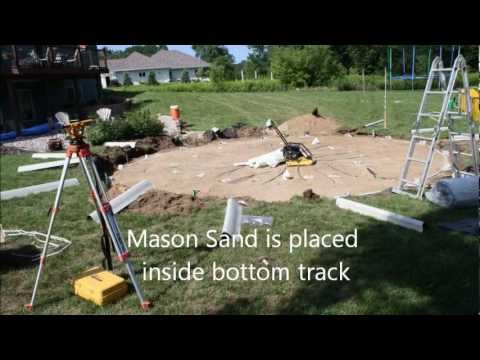 Above Ground Pool Install