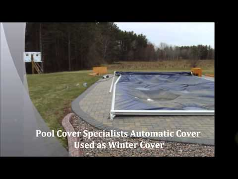Why you should not use an automatic pool cover as a winter cover